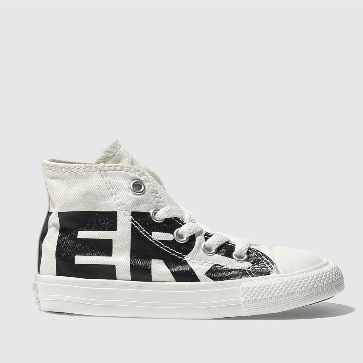 Converse Natural All Star Hi Wordmark Toddler Trainers