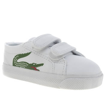 Lacoste White & Green Marcel Unisex Toddler