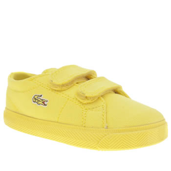 Lacoste Yellow Marcel Unisex Toddler