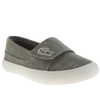 Lacoste Grey Marice Unisex Toddler