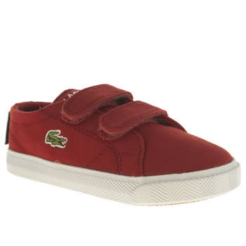Lacoste Red Marcel Unisex Toddler