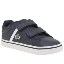 Lacoste Navy Fairlead Unisex Toddler