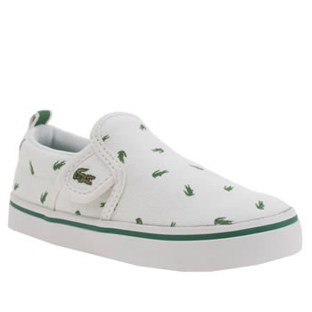 Lacoste White Gazon Unisex Toddler