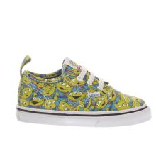 Vans Green Authentic Toy Story Aliens Unisex Toddler