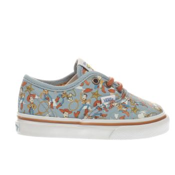 Vans Pale Blue Authentic Toy Story Woody Unisex Toddler