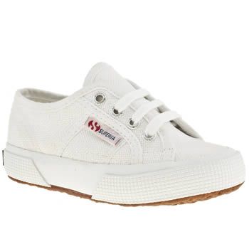 Superga White 2750 Unisex Toddler