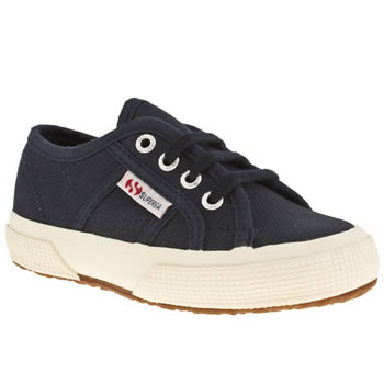 Superga Navy 2750 Unisex Toddler