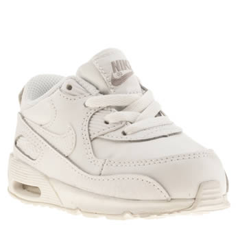 Unisex Nike White Air Max 90 Unisex Toddler