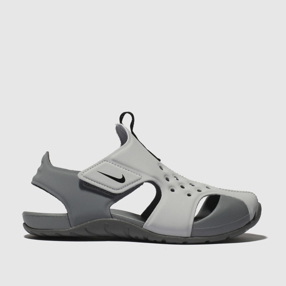 Nike Light Grey Sunray Protect 2 Trainers Toddler