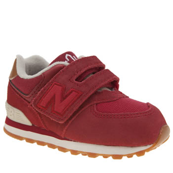 New Balance Red 574 New England Unisex Toddler