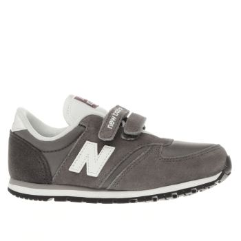 NEW BALANCE GREY 420 TODDLER TRAINERS