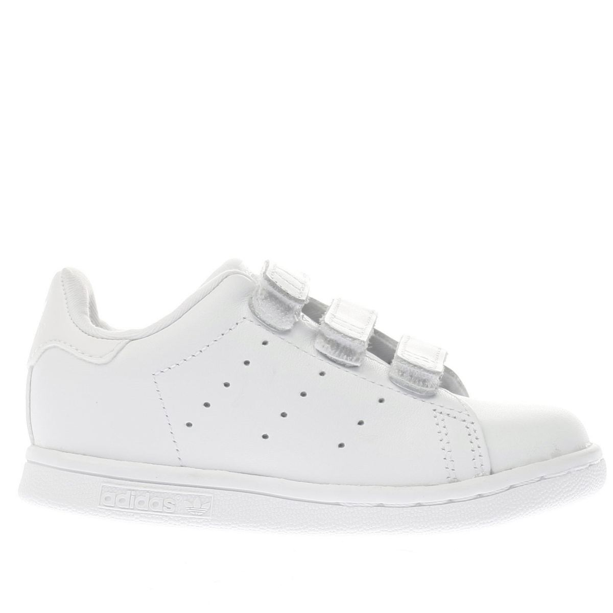 adidas white stan smith Toddler Trainers