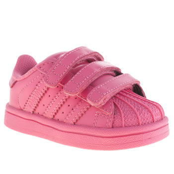 Adidas Pink Superstar Supercolor Unisex Toddler