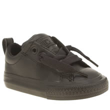 Converse Black All Star Street Unisex Toddler