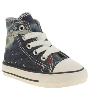 Converse Blue All Star Hi Denim Unisex Toddler