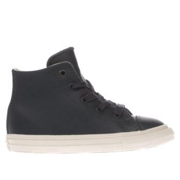 Converse Navy All Star Ii Hi Leather Unisex Toddler