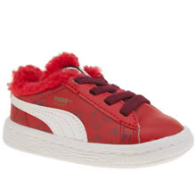 Puma Red Basket Sesame Street Unisex Toddler