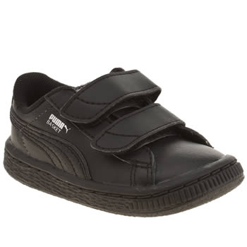 Puma Black Basket Unisex Toddler