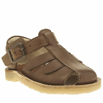 Young Soles Tan Frankie Unisex Toddler