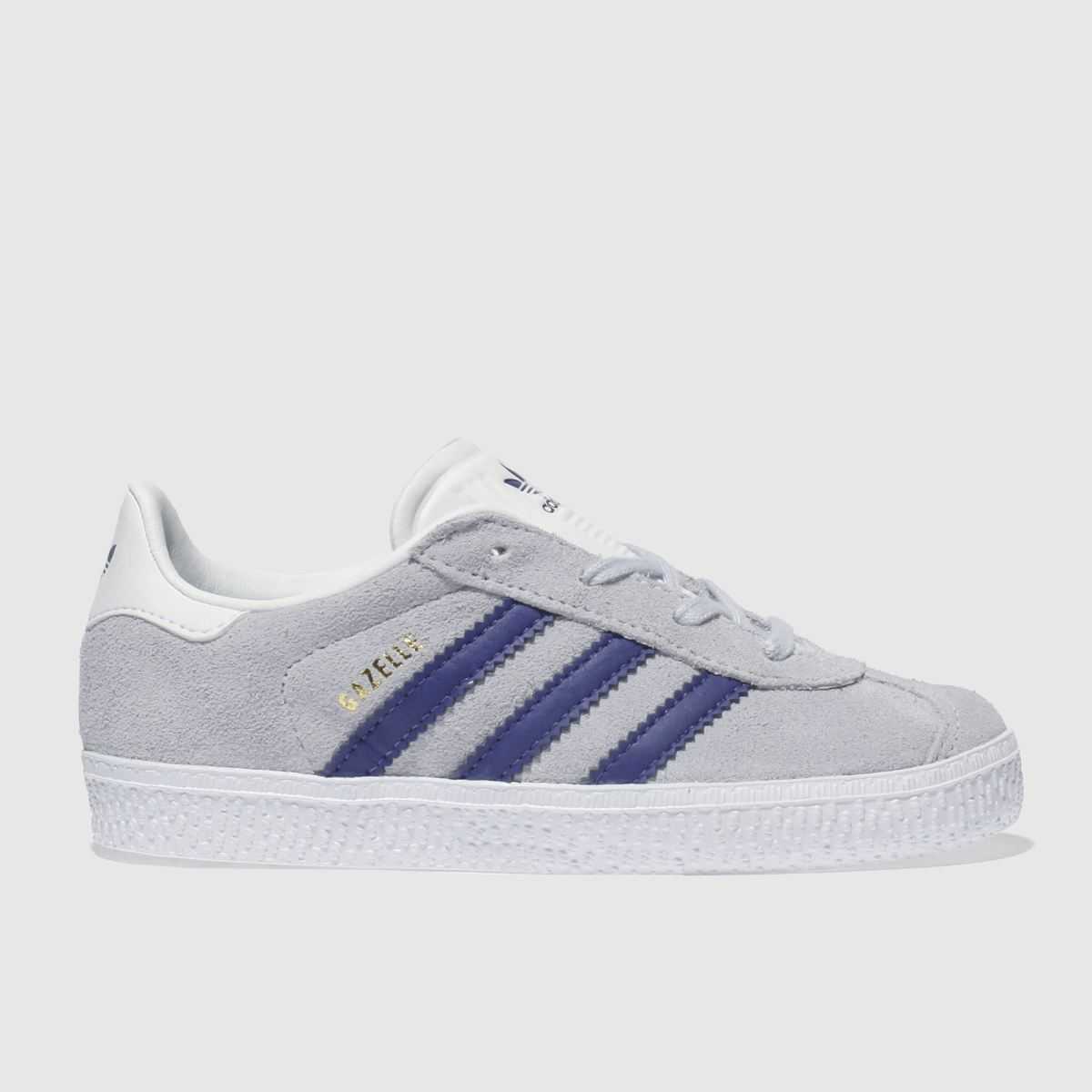 Adidas Grey & Navy Gazelle Trainers Toddler