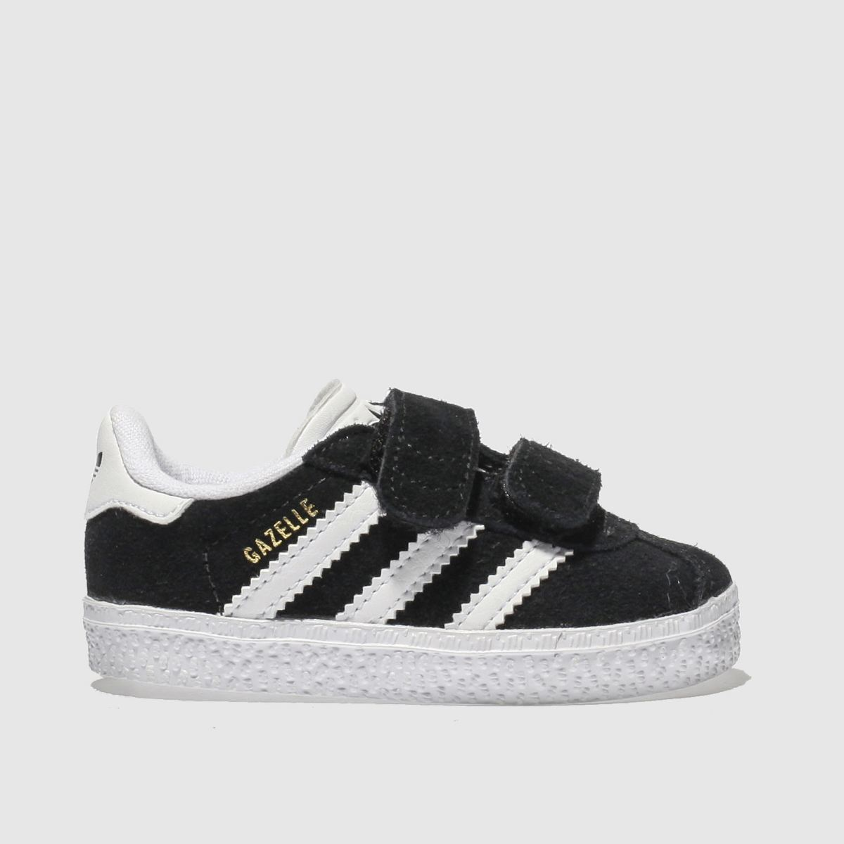 Adidas Black & White Gazelle Trainers Toddler