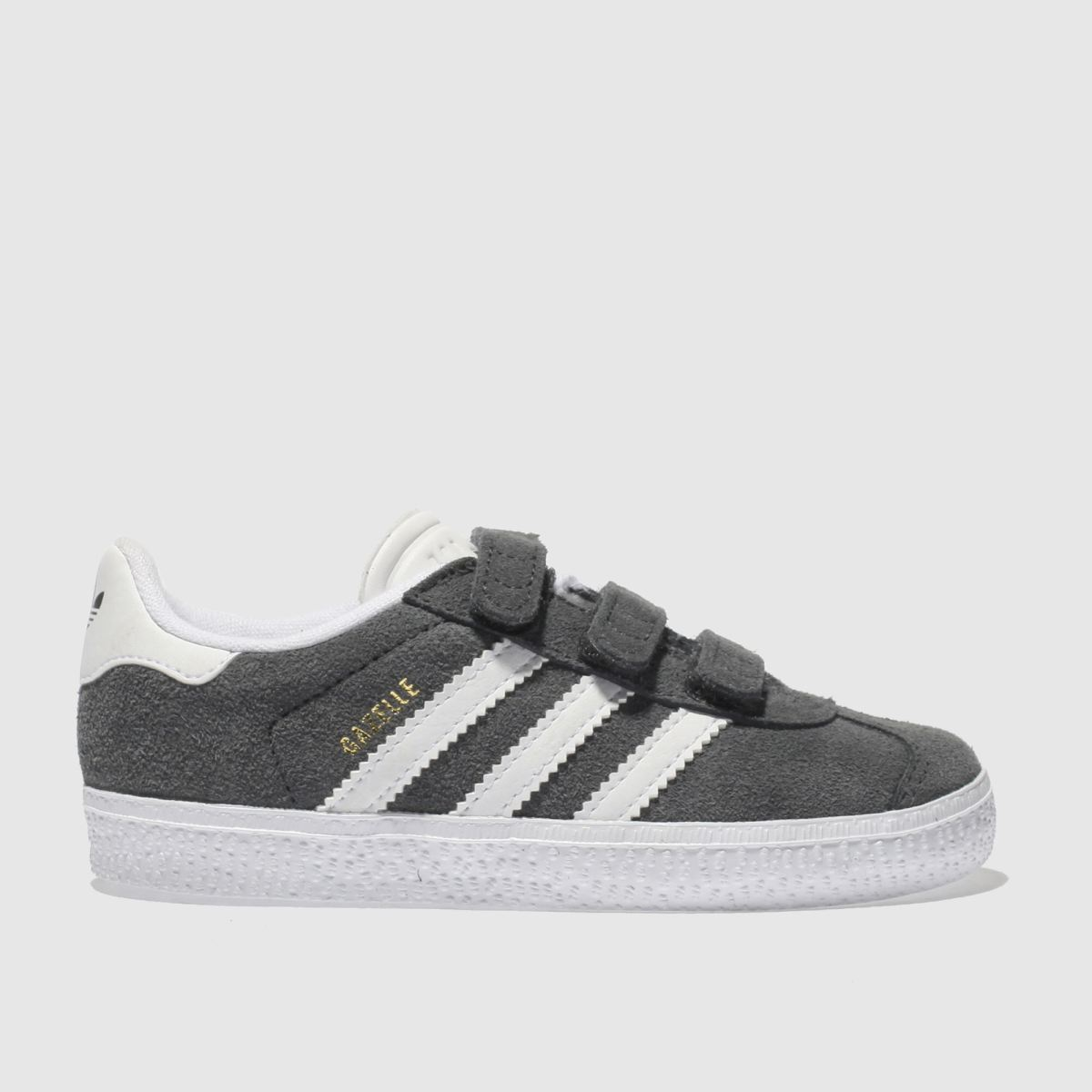 Adidas Dark Grey Gazelle Trainers Toddler
