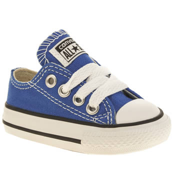 Converse Blue All Star Lo Unisex Toddler
