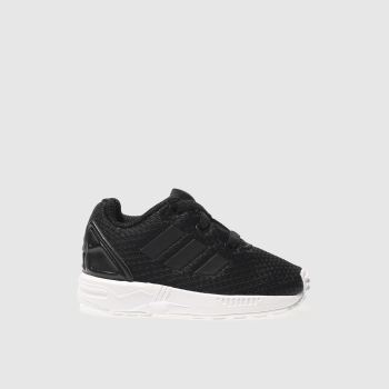 Adidas Black Zx Flux Unisex Toddler