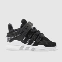Adidas Black & White Eqt Support Adv C Unisex Toddler