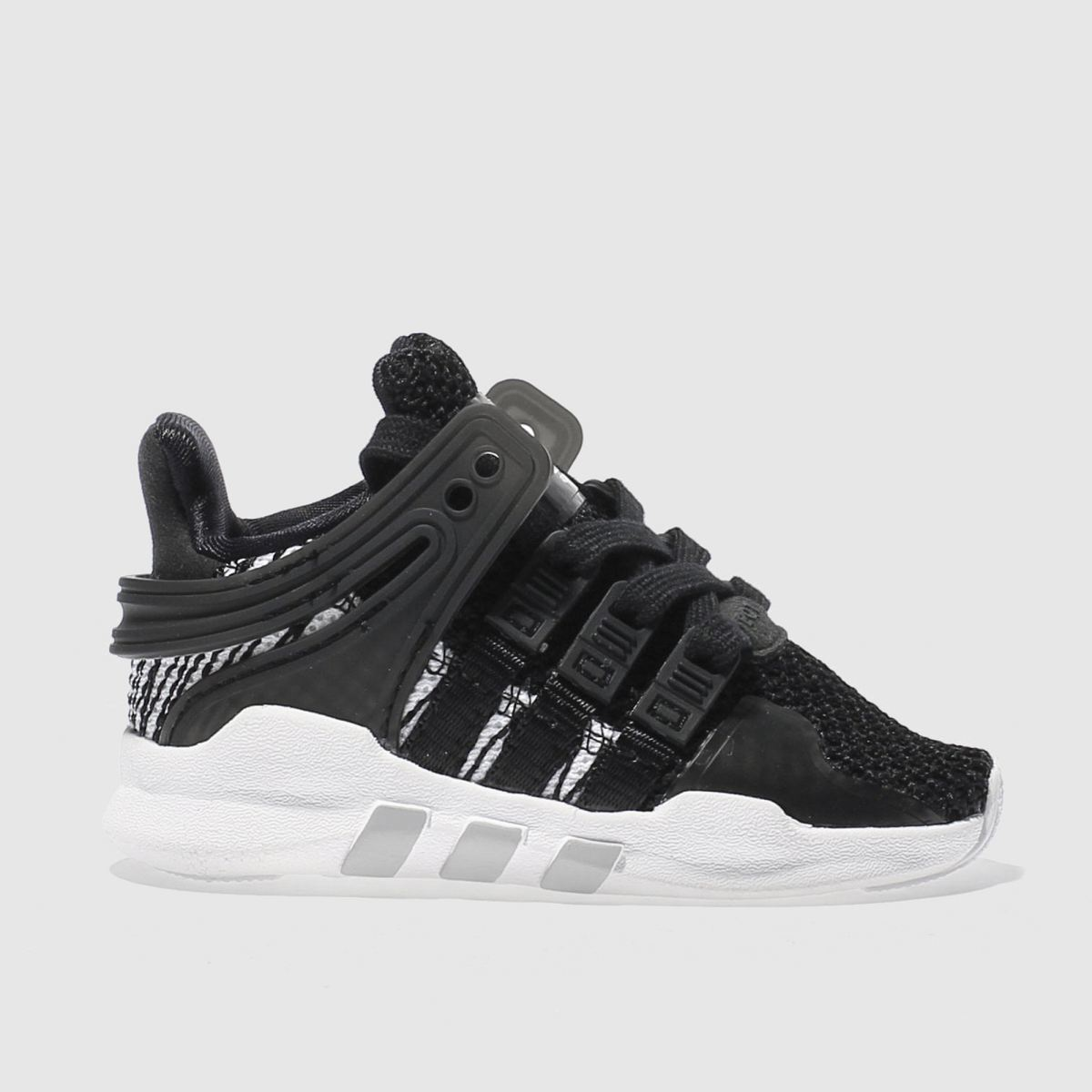 adidas black & white eqt support adv c Toddler Trainers