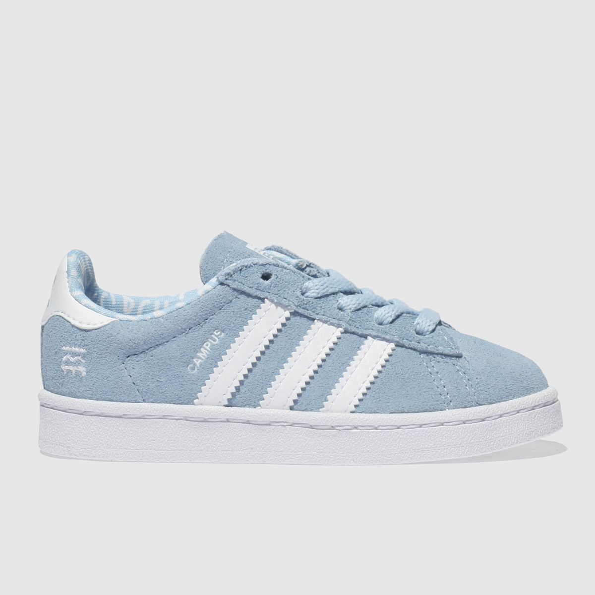 Adidas Pale Blue Campus Trainers Toddler