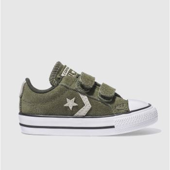 Converse Khaki STAR PLAYER 2V Unisex Toddler