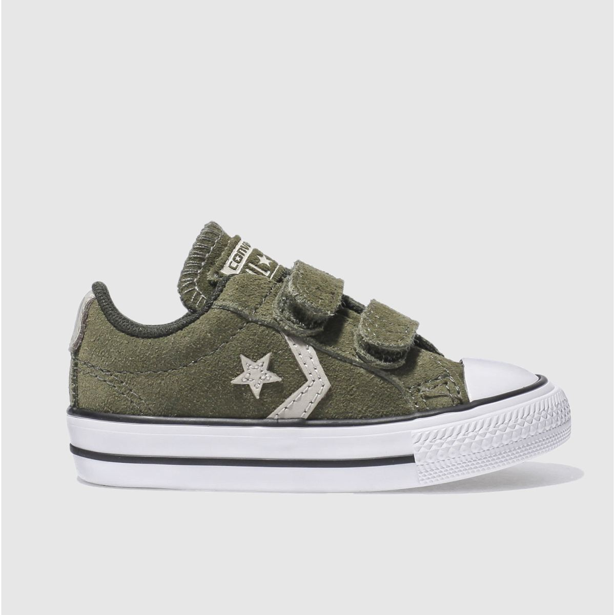 converse khaki star player 2v Toddler Trainers