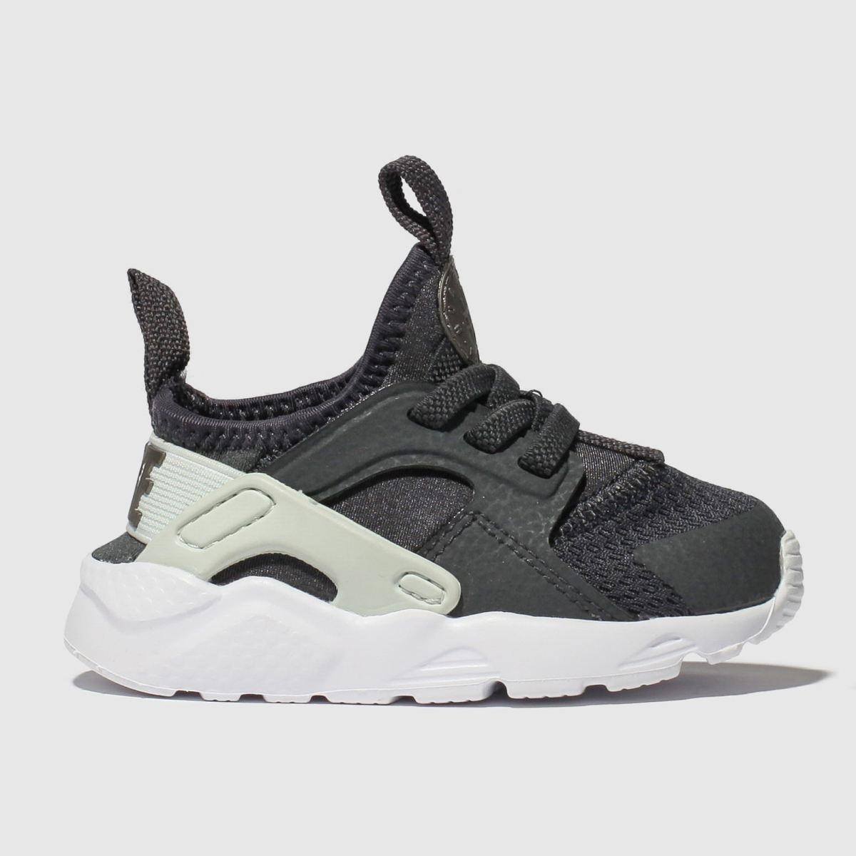 Nike Dark Grey Huarache Run Ultra Trainers Toddler