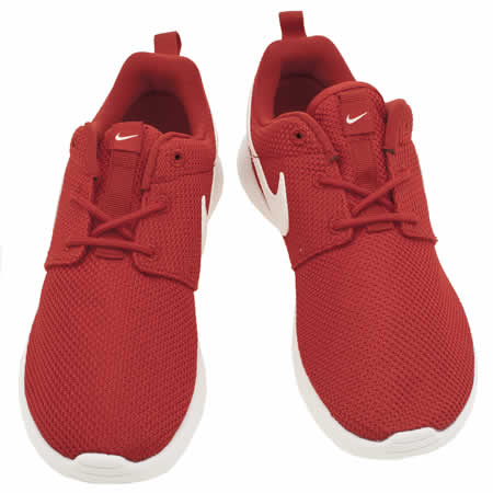 ayxyi Kids Red Nike Roshe One Junior Trainers | schuh