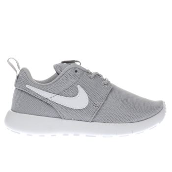 Nike Light Grey Roshe One Unisex Junior