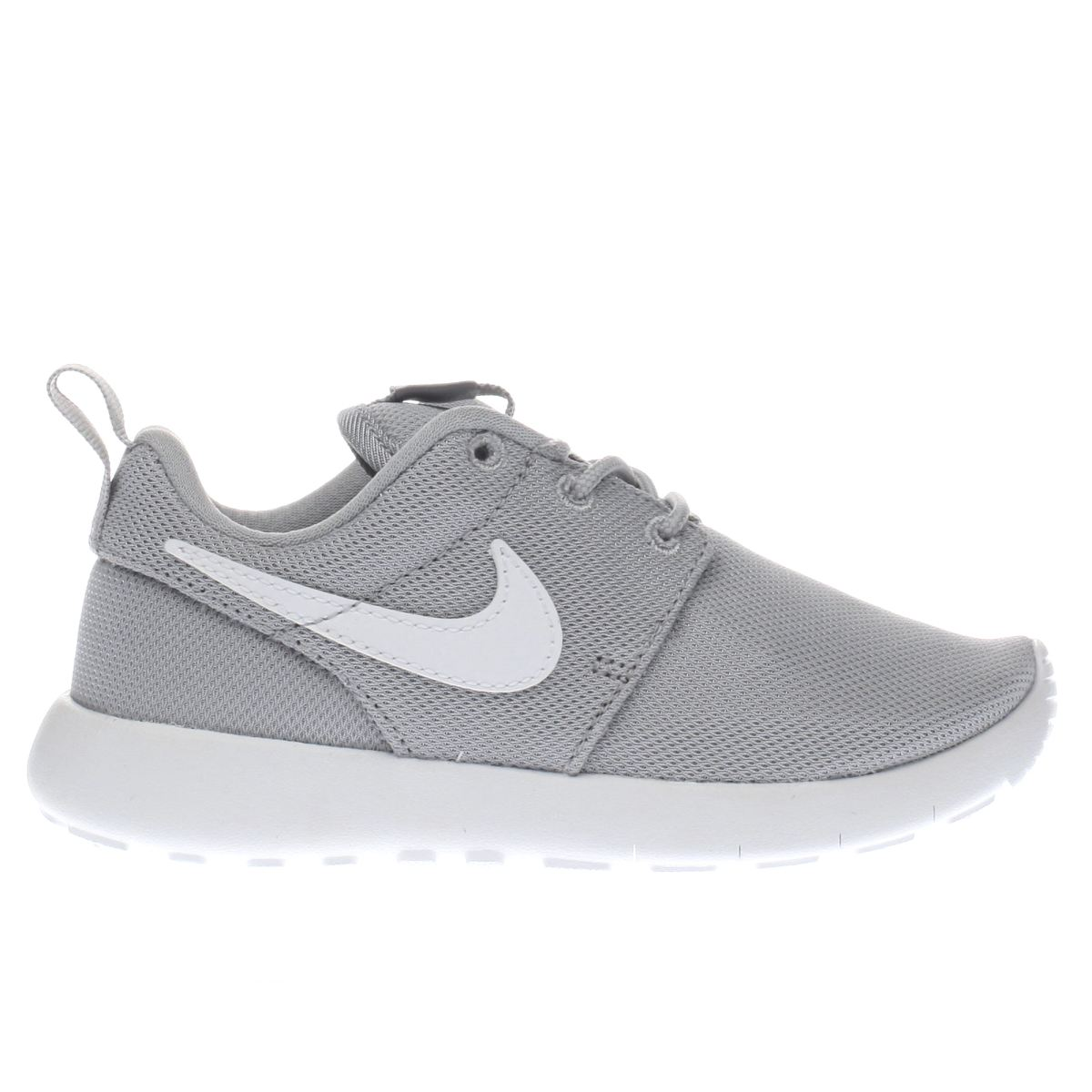 nike light grey roshe one Junior Trainers