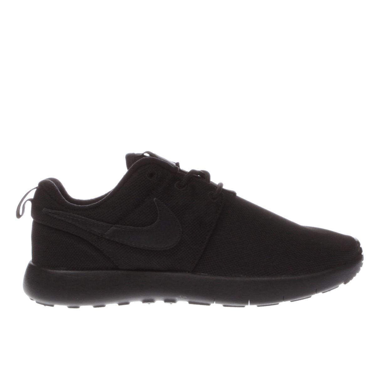 nike black roshe one Junior Trainers