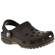 Junior Black Crocs Classic
