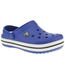 Junior Blue Crocs Crocband Kids