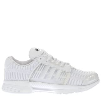 ADIDAS WHITE CLIMACOOL 1 JUNIOR TRAINERS