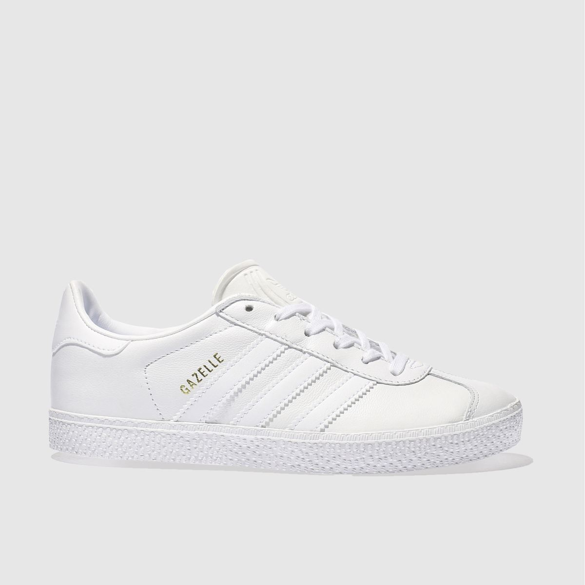 adidas white gazelle Junior Trainers