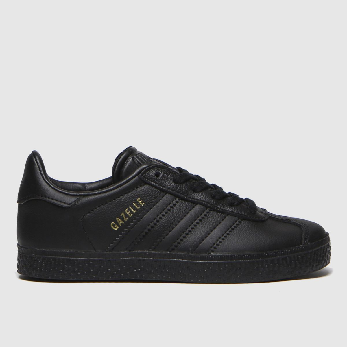 adidas black gazelle Junior Trainers