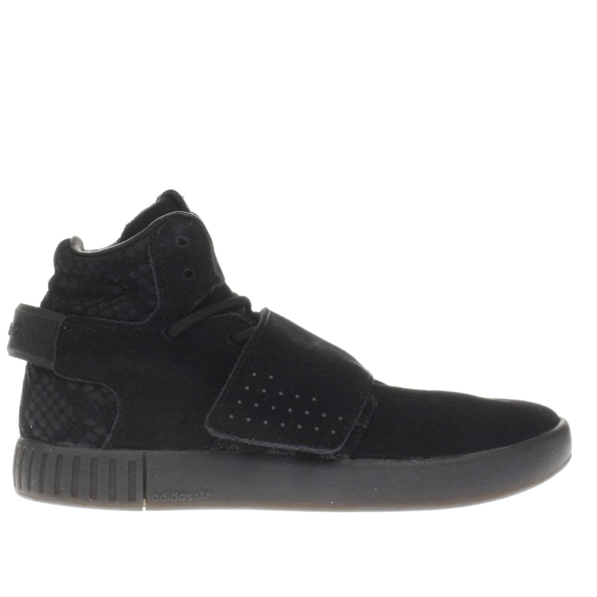 adidas black tubular invader strap Junior Trainers