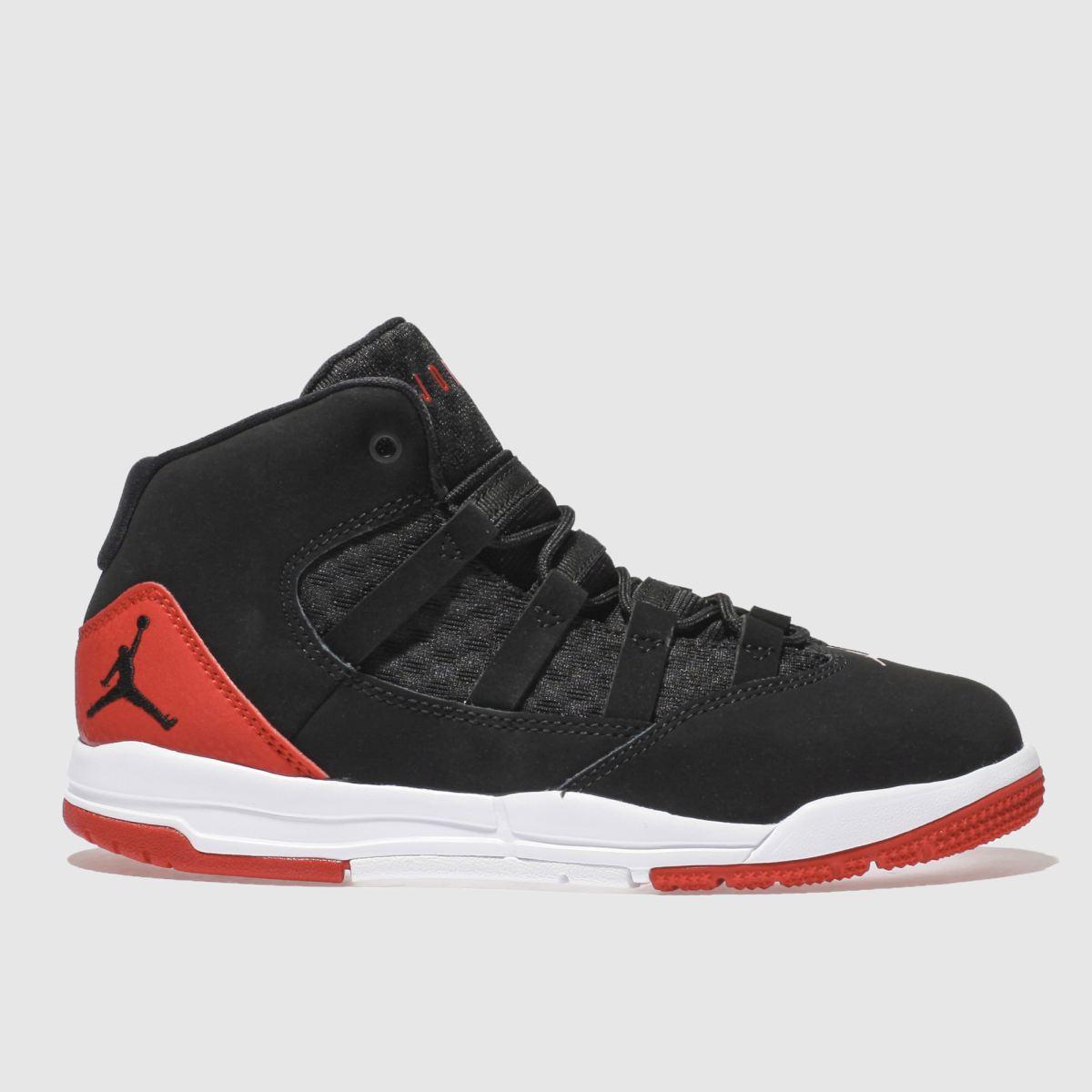 Nike Jordan Black & Red Jordan Max Aura Trainers Junior