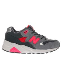 New Balance Grey 580 Unisex Junior