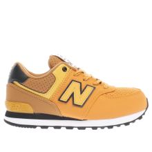 New Balance Yellow 574 Unisex Junior