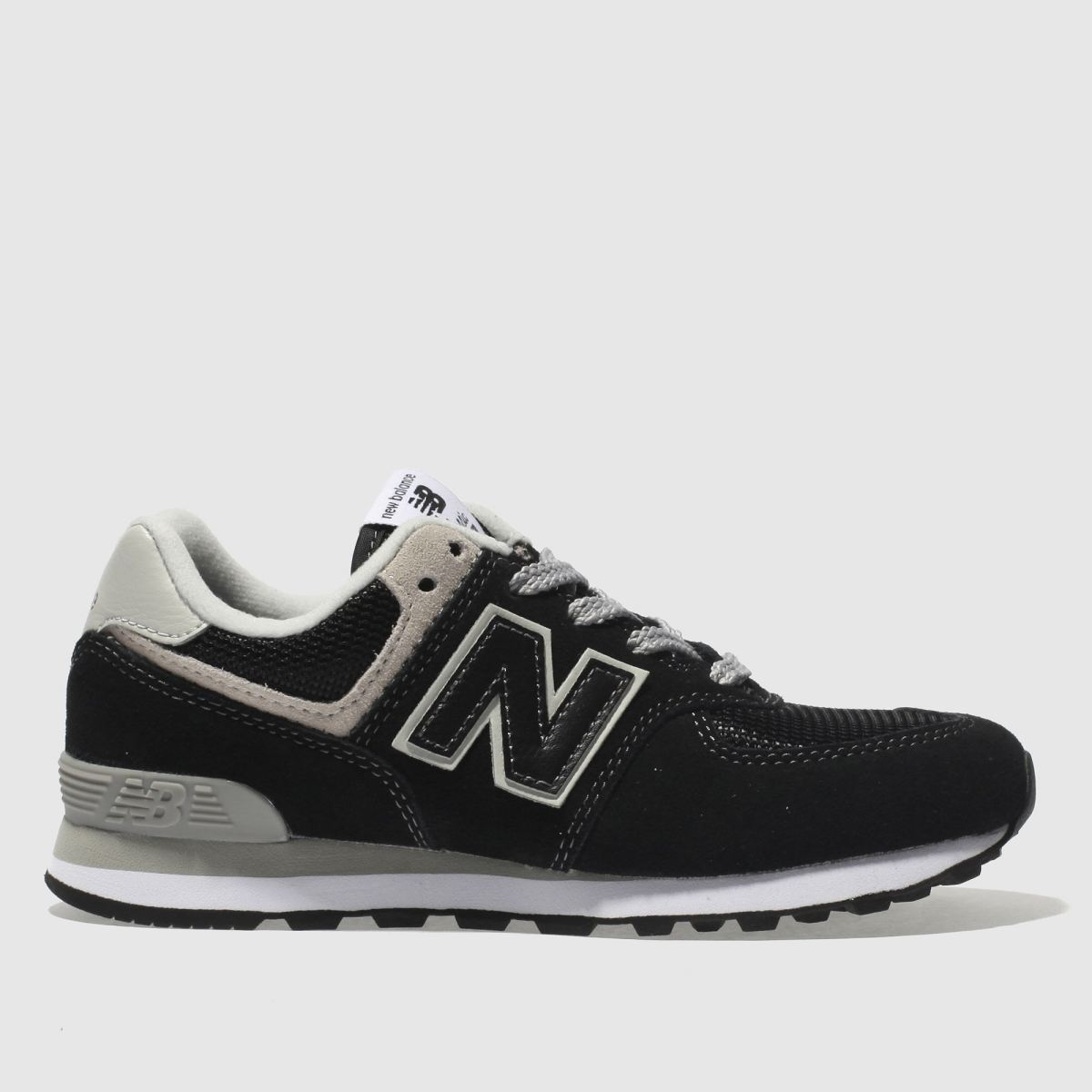 New Balance Black 574 Unisex Junior Junior