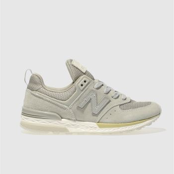 New Balance Grey 574 Sport Unisex Junior
