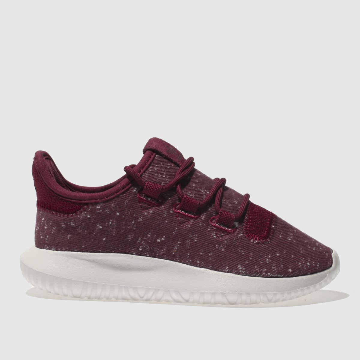 adidas burgundy tubular shadow Junior Trainers